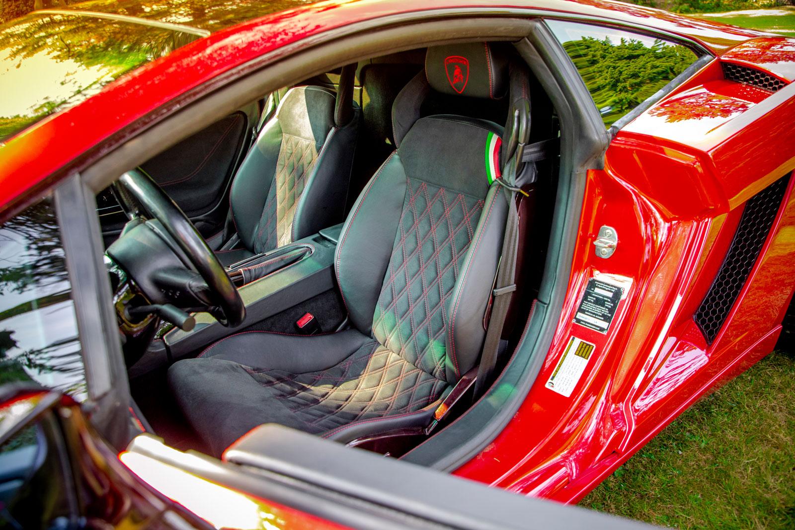 Fotografie Paderborn • DESIGN 7 • Outdoor • Lamborghini Gallardo • Sitze • Werbeagentur Paderborn