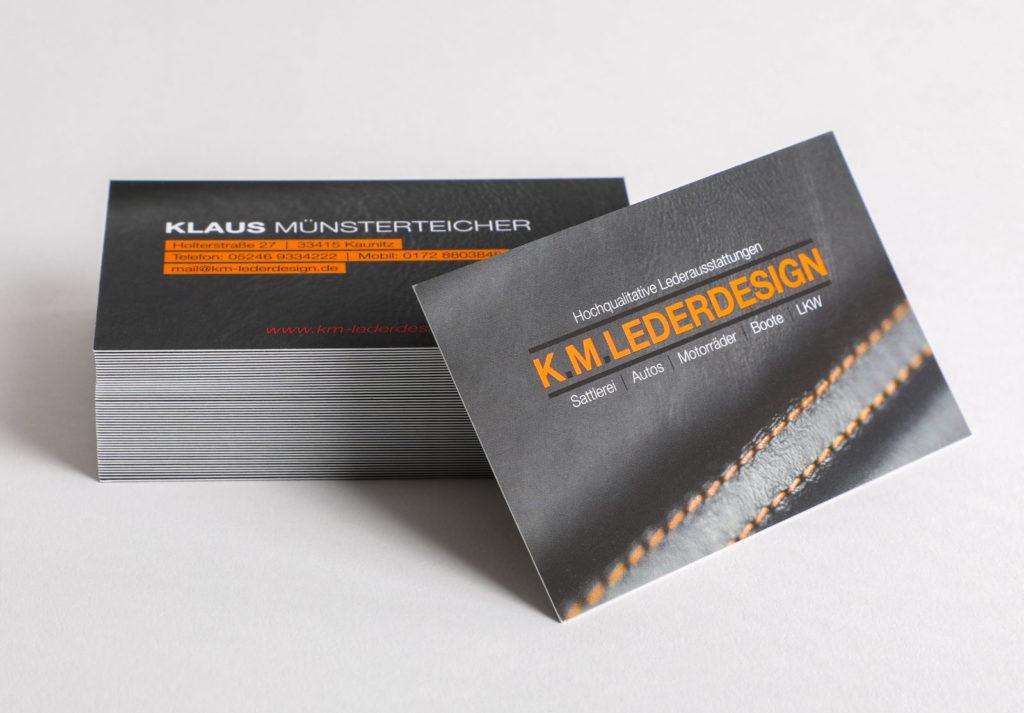 Print Design Paderborn • DESIGN 7 • Visitenkarten • Werbeagentur Paderborn